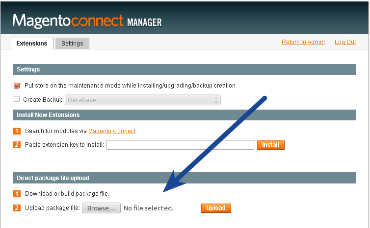 Magento Upload Single Sign-On