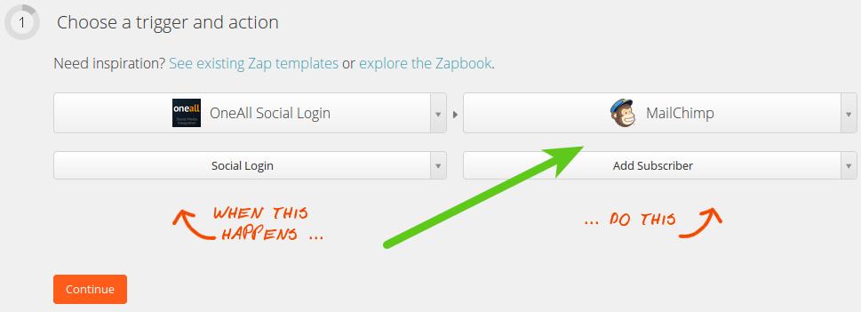 Zapier MailChimp Action